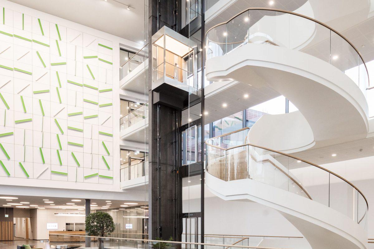 Der neue Vector-Informatik IT-Campus Headquarter in Stuttgart.