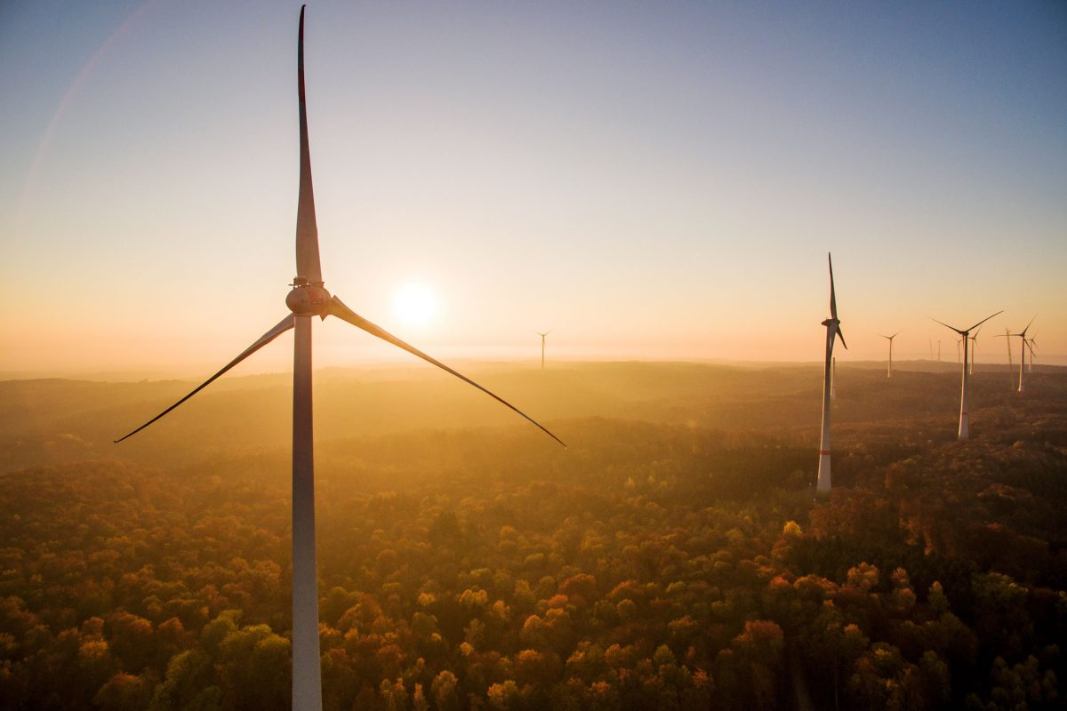 Windpark Harthäuser Wald