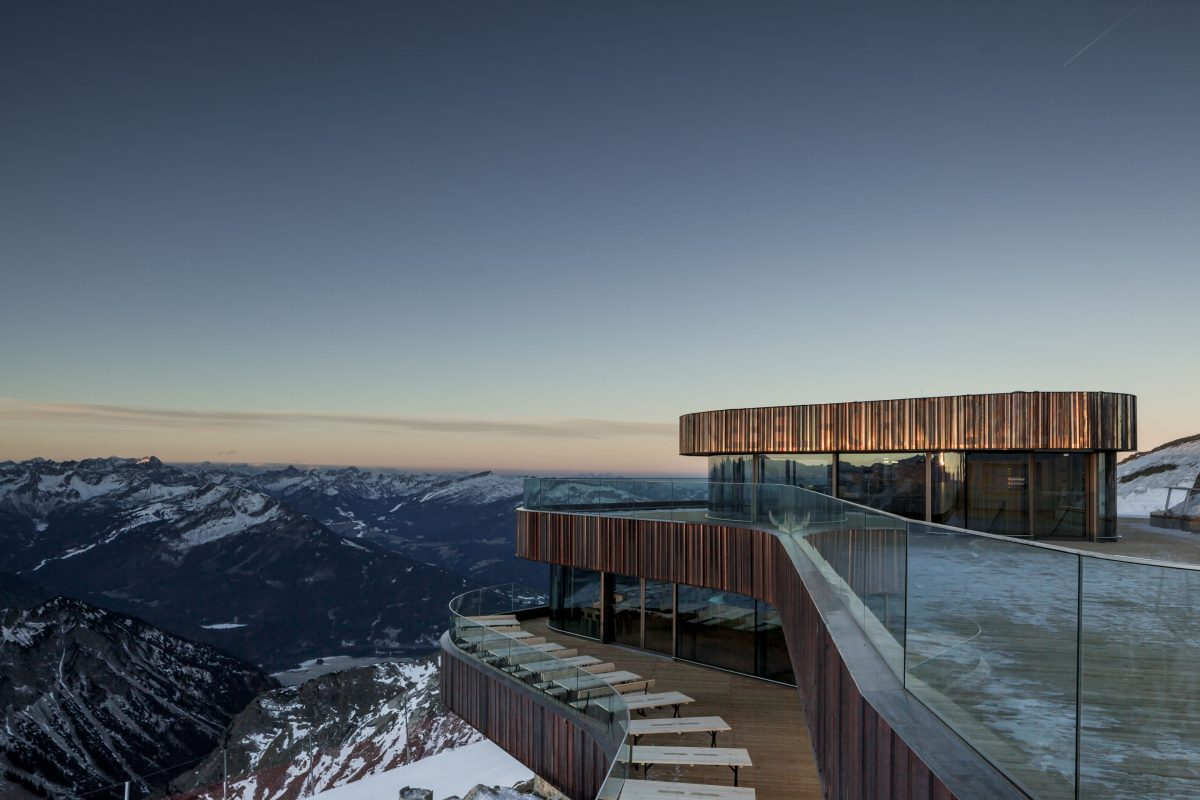 Die neue Nebelhorn Gipfelstation