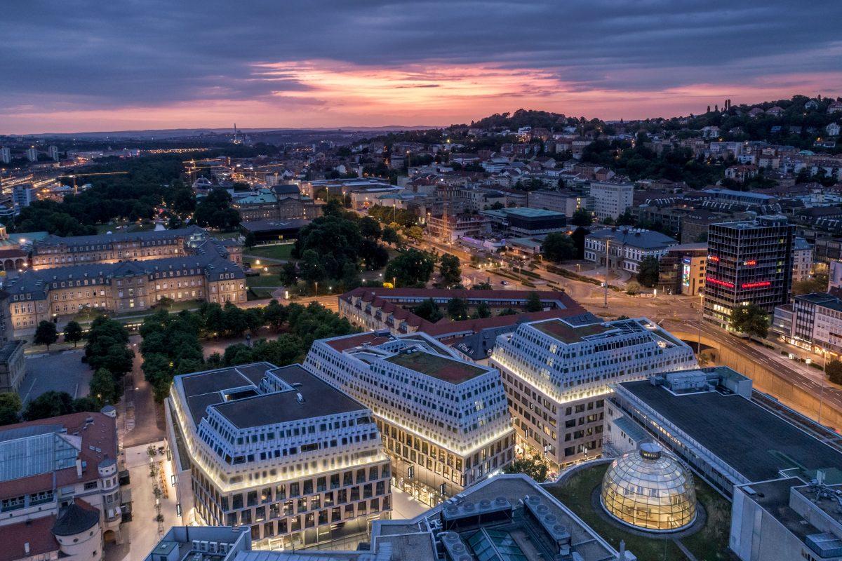 Das Neue Dorotheen Quartier in Stuttgart von Behnisch ARCHITEKTEN