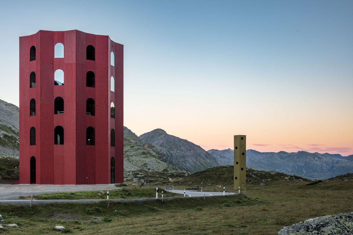 Origen Kultur Festival Julier Turm