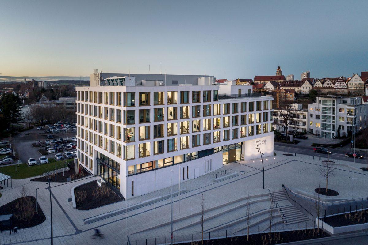 Rathaus Leonberg Schaller Architekten BDA RIBA
