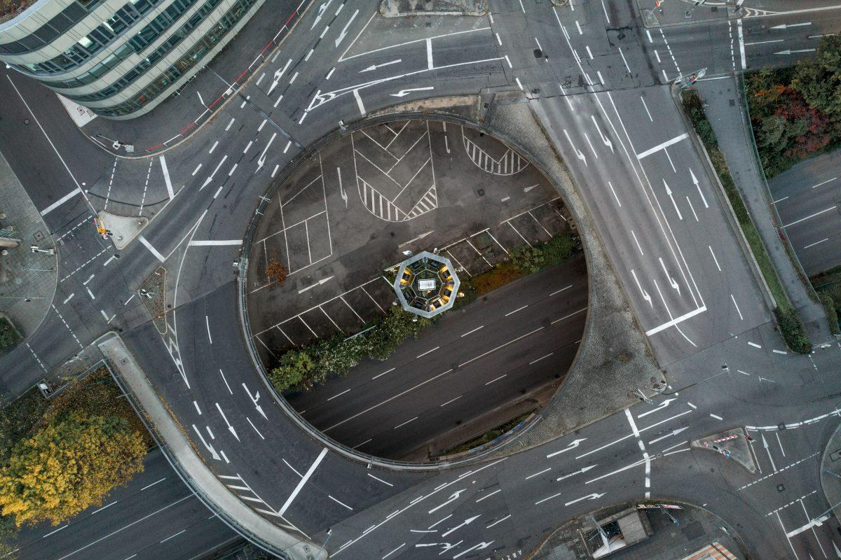 Stuttgart mit der Drohne aus der Luft