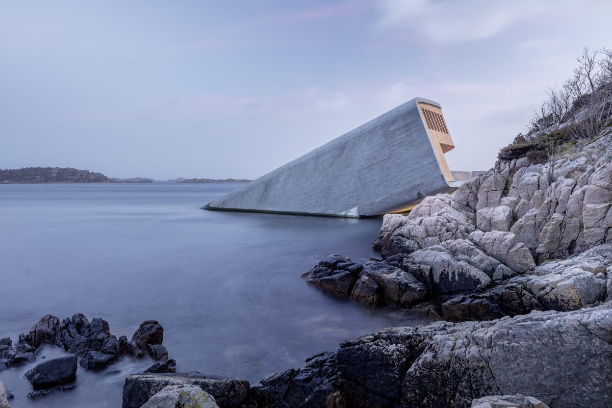 snøhetta Under, the world's largest underwater restaurant